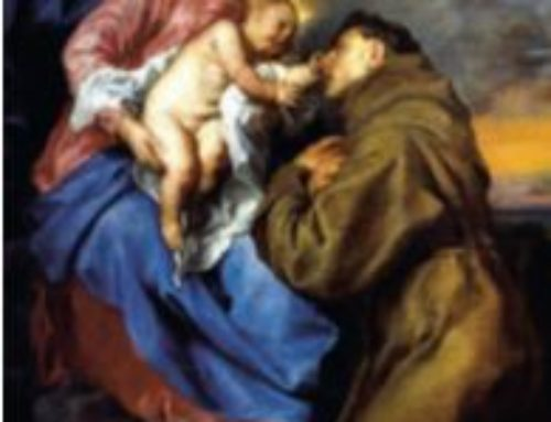 St. Anthony & the Blessed Virgin Mary
